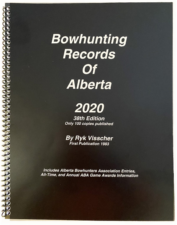 Ryk Visscher's Bowhunting Records of Alberta